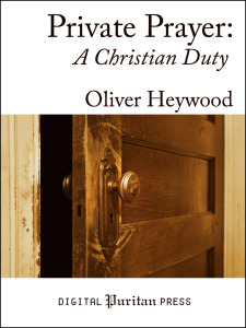 Book Cover: Private Prayer: A Christian Duty