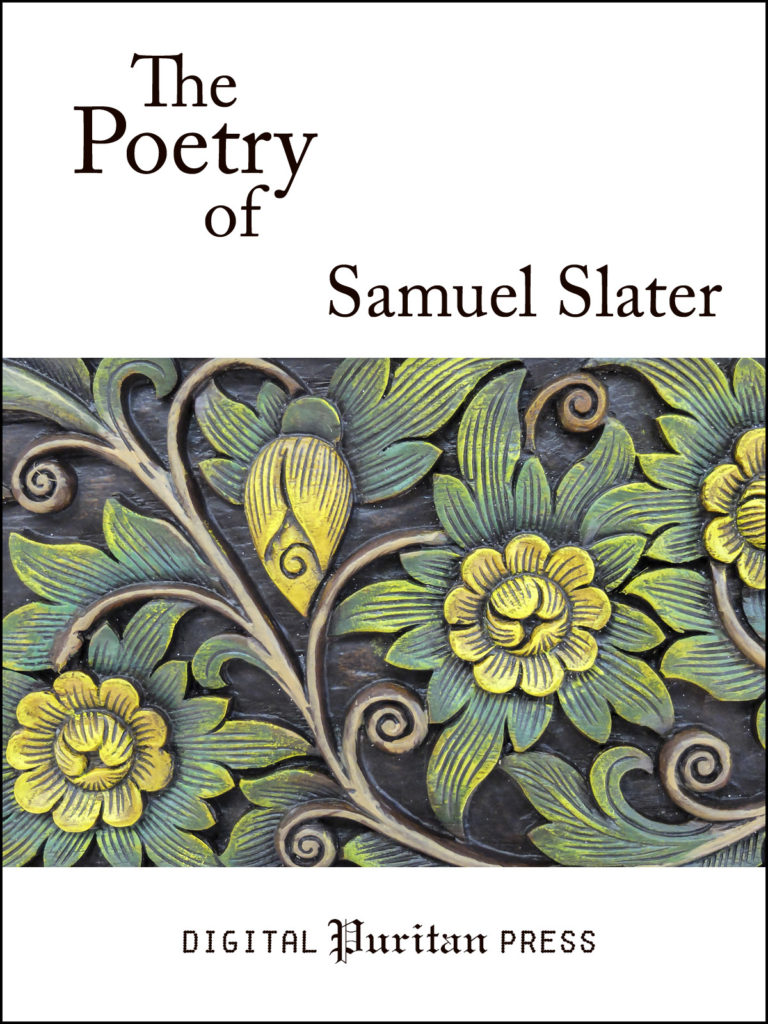 Book Cover: The Poetry of Samuel Slater